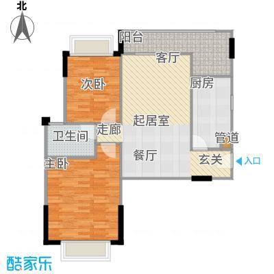 广电江湾新城96.00㎡27栋A221-户型