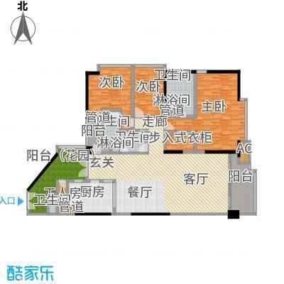 肯辛顿国际公寓08单元户型