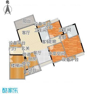 尚城国际89.39㎡A-5栋04户型