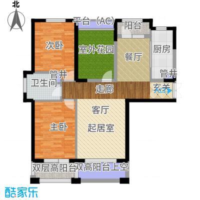 中海华庭114.00㎡高层C3户型