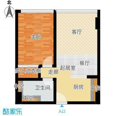 万菱汇万菱君临国际公寓万菱汇万菱君临国际公寓户型1室1卫