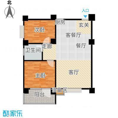 楚天馨苑101.00㎡户型