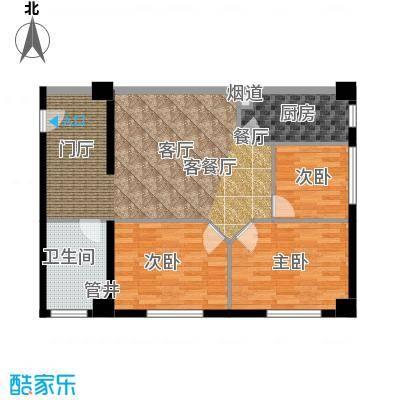 荣民国际公寓89.00㎡户型