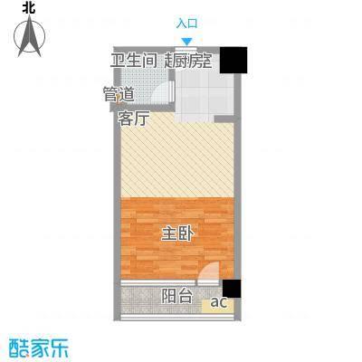 QQ生活馆户型1卫