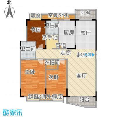 乡村花园南艳湾97.81㎡135m2户型