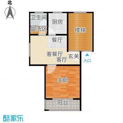 碧泉嘉园53.00㎡54m2户型