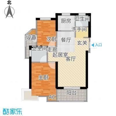 锦汇苑67.84㎡10004m2户型