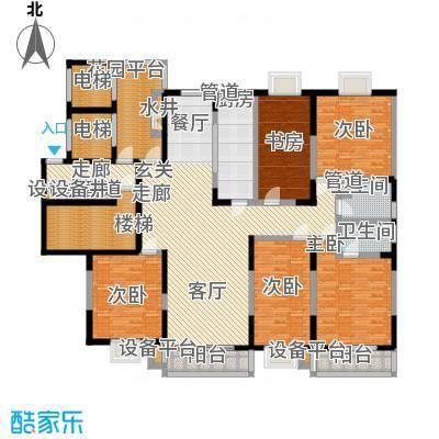 太平宝邸户型5室1厅2卫1厨