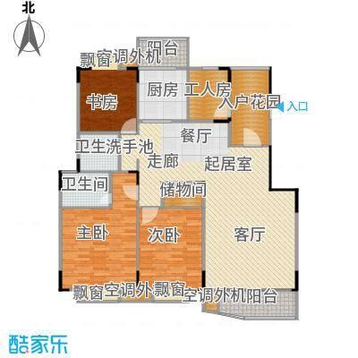 乡村花园南艳湾145.00㎡145m2户型
