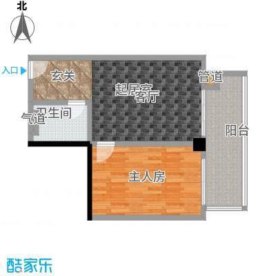 颐和雅轩61.35㎡南塔22层05单元户型