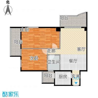 龙泽榕园三阳台户型