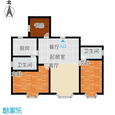 吉泰家园126.87㎡房型户型