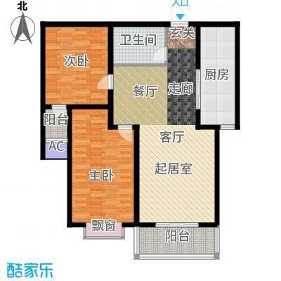 军城・港湾105.52㎡B户型
