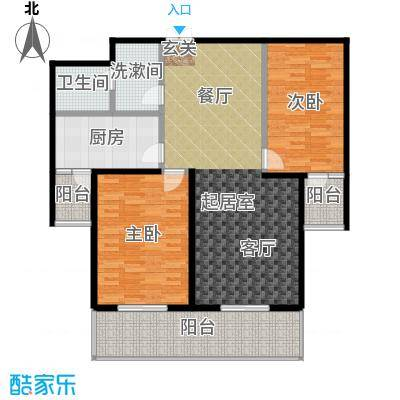 唐宫北苑122.20㎡户型