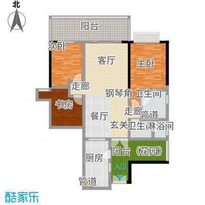 肯辛顿国际公寓06单元户型