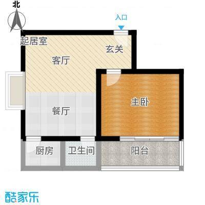清水澜庭66.20㎡C2户型