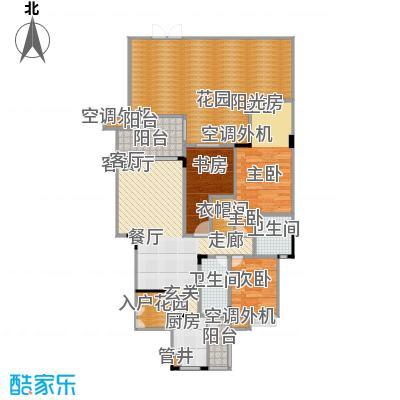 福江・名城名城117.07㎡一期5号楼2单元1层2号房户型