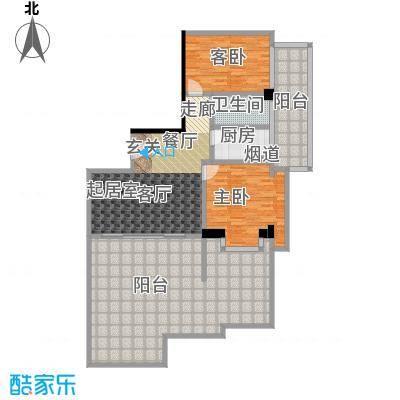 颐和雅轩103.02㎡南塔22层01单元户型