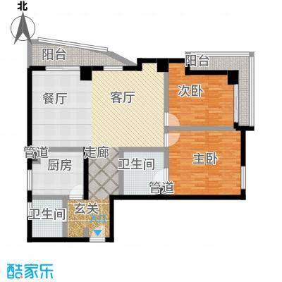 航天星苑135.85㎡房型户型