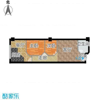 荣民国际公寓60.00㎡户型
