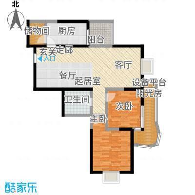 金花公寓120.69㎡107套户型