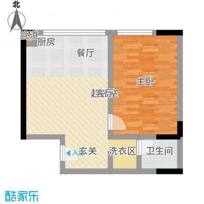 颐和宫52.00㎡户型