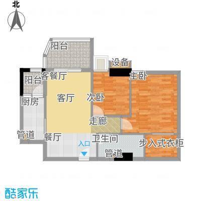 雅居乐君域公馆82.00㎡C户型
