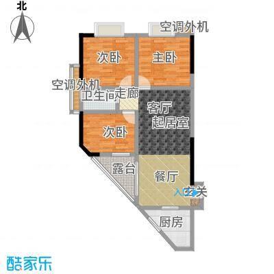 馨润尚寓88.00㎡B1座05单元户型