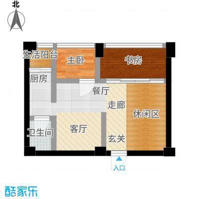 白金假日公寓40.00㎡房型户型
