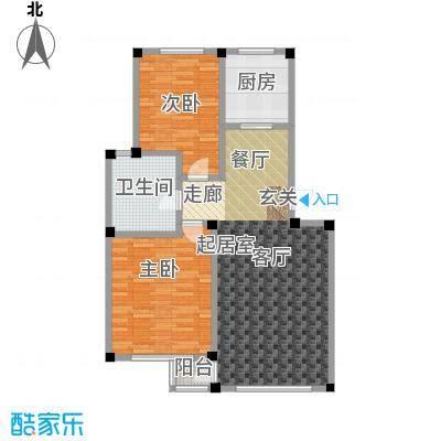 鹏辉裕景轩88.41㎡C户型