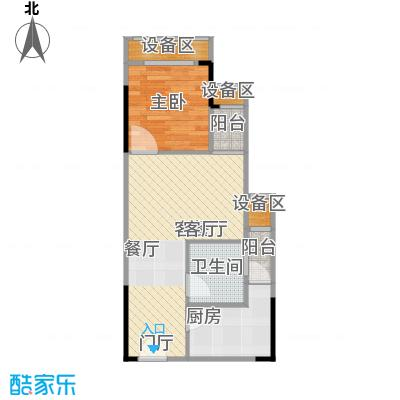 NANO公馆39.71㎡单体楼标准层B户型