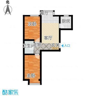 金鼎阳光苑76.00㎡B2户型