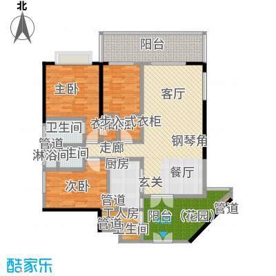 肯辛顿国际公寓07单元户型