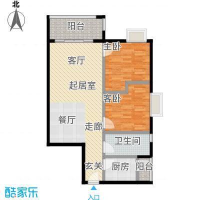 宏康东筑72.00㎡单位户型