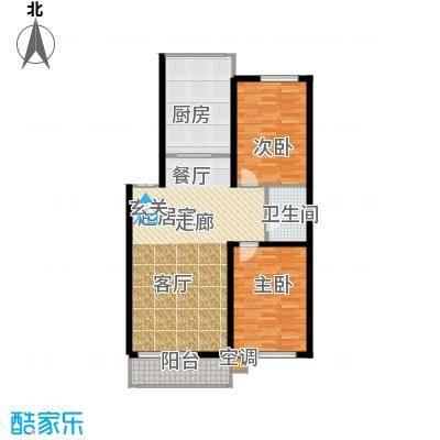 鑫丰俪城94.00㎡房型户型