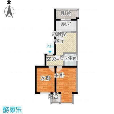 和泰馨城和泰新城1、2区住宅-1户型