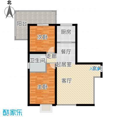 曲江雁唐府邸109.25㎡A型结构户型