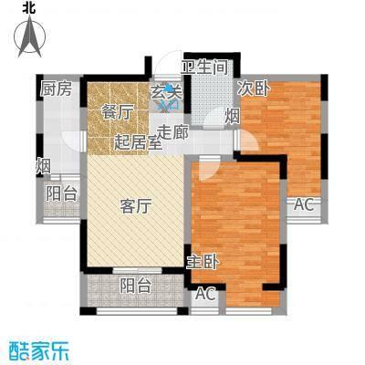 大明宫逸居84.00㎡A1户型
