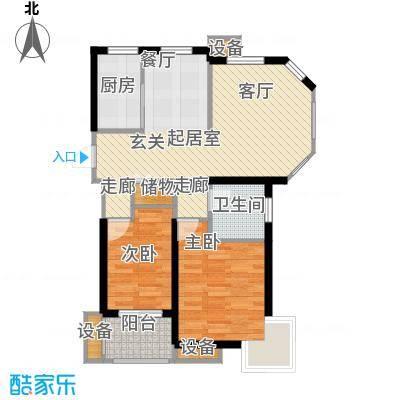 锦汇苑67.84㎡9979m2户型