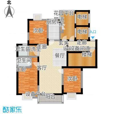 太平宝邸户型3室1厅2卫1厨