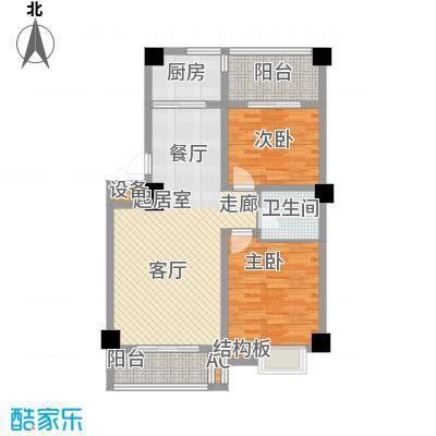 灞柳生态家园115.80㎡骞柳北二区43#楼户型