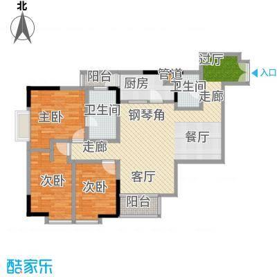 肯辛顿国际公寓04单元户型