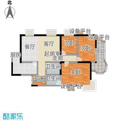 金花公寓148.57㎡-110套户型