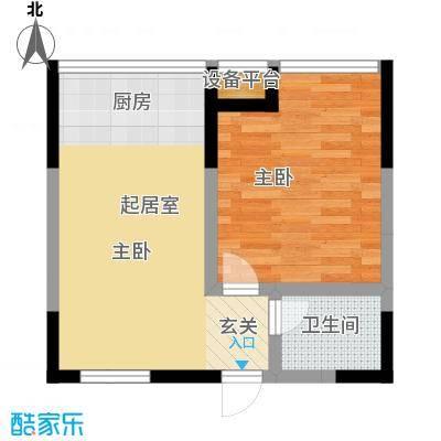 锦翔梧桐坊55.08㎡A户型