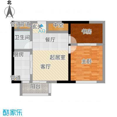 颐和宫77.00㎡户型