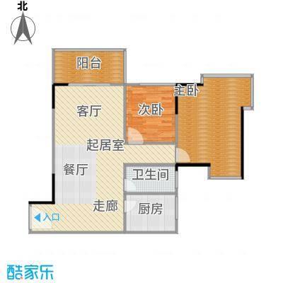 上林国际85.55㎡B户型