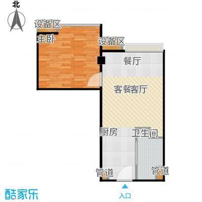 东城国际公寓911单位户型