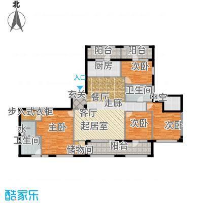 银马公寓195.00㎡房型户型