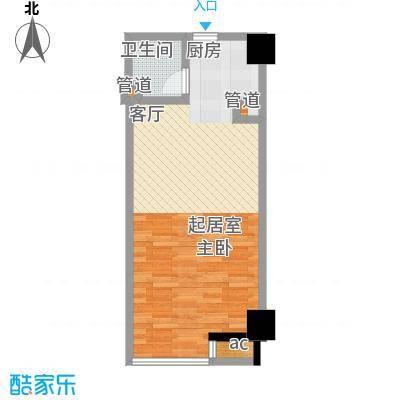 QQ生活馆40.00㎡户型