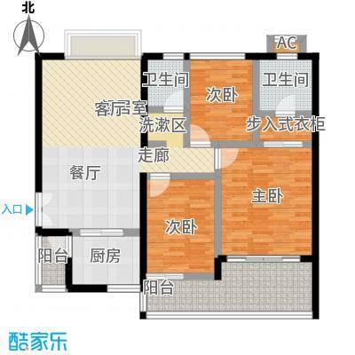 东方花园98.00㎡户型